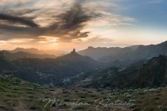 Panoramz z Roque Bentayga